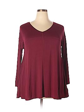 Kenar 3/4 Sleeve Top Size 1X (Plus)