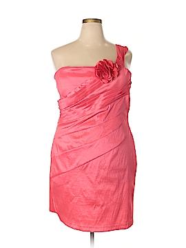 Snap Cocktail Dress Size 3X (Plus)