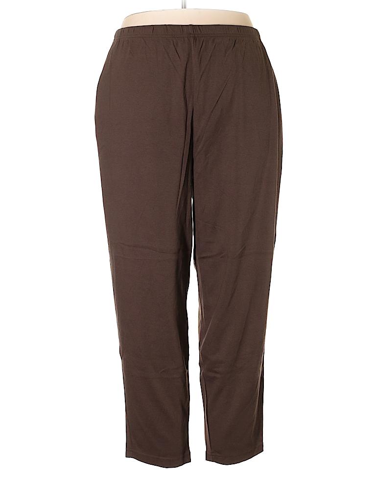 Lands' End Women Casual Pants Size 3X (Plus)
