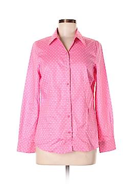 Chadwicks Long Sleeve Button-Down Shirt Size 6