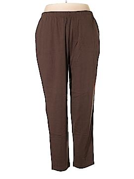 Lands' End Casual Pants Size 1X (Plus)