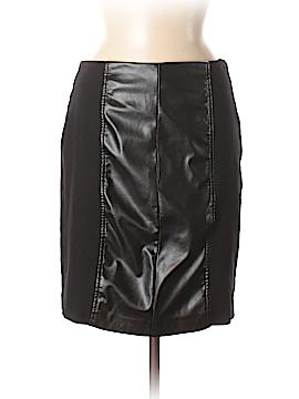 Alfani Faux Leather Skirt Size 6 (Petite)