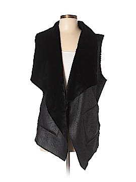 Alfani Faux Fur Vest Size L
