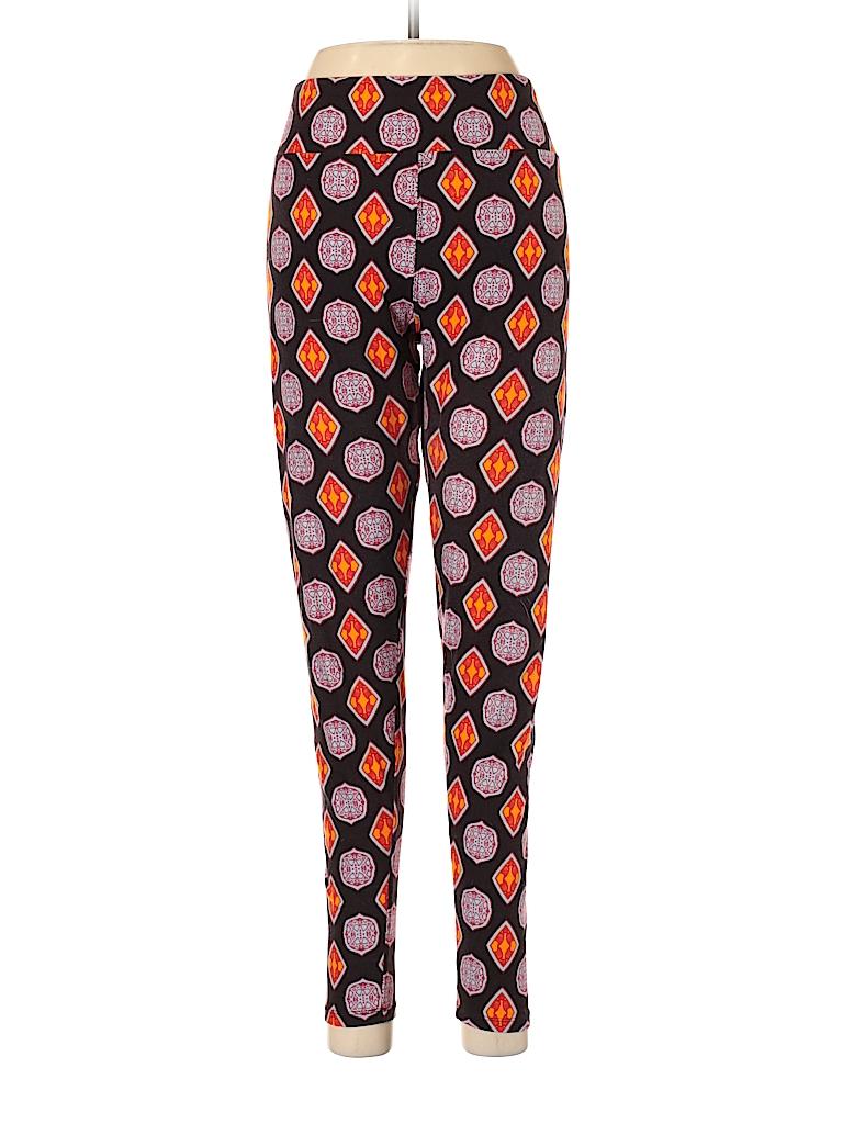 93be21cd553296 Lularoe Print Black Leggings One Size (Tall) - 84% off | thredUP