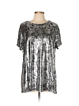 City Chic Short Sleeve Top Size 12 Plus (XS) (Plus)