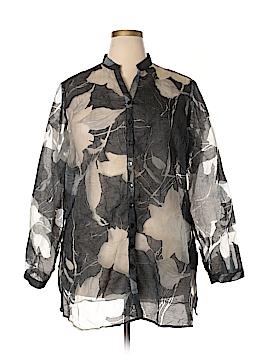 Coldwater Creek Long Sleeve Blouse Size 1X (Plus)