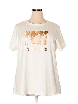 City Chic Short Sleeve T-Shirt Size 18 Plus (M) (Plus)
