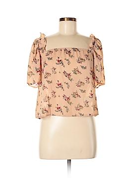 Boohoo Boutique Short Sleeve Blouse Size 8