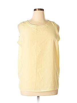 Karen Scott Sleeveless Blouse Size XL