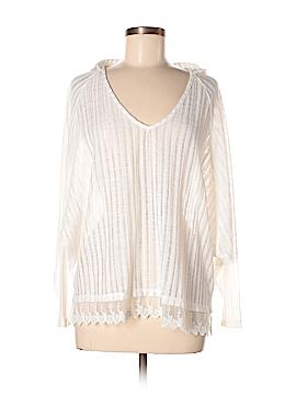 En Creme 3/4 Sleeve Blouse Size M