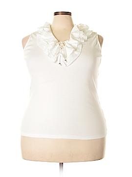 Chaps Sleeveless Top Size 1X (Plus)