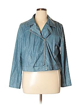 Lysse Faux Leather Jacket Size 1X (Plus)