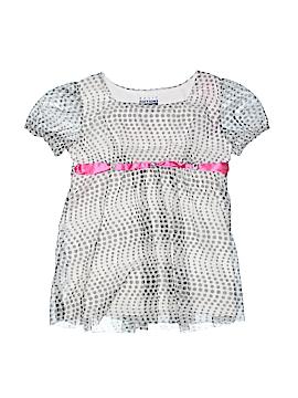 Basic Editions Short Sleeve Blouse Size 10 - 12