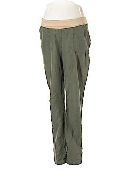 Ann Taylor LOFT Maternity Linen Pants Size 8 (Maternity)