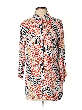 CAbi 3/4 Sleeve Button-Down Shirt Size M
