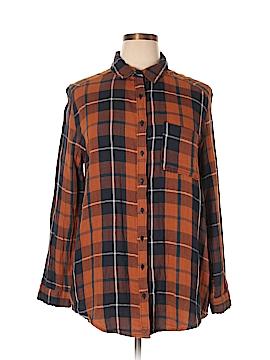 ABound Long Sleeve Button-Down Shirt Size XL
