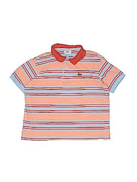 Lacoste Short Sleeve Polo Size 12
