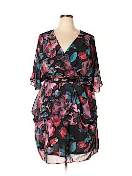 City Chic Casual Dress Size 24 Plus (XXL) (Plus)