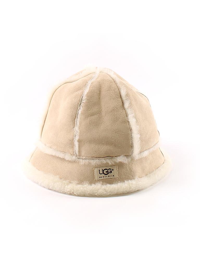 Ugg Australia Solid Beige Winter Hat One Size - 66% off  304eb9e5417