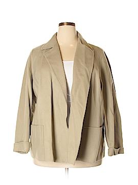 Linda Allard Ellen Tracy Wool Coat Size 20 (Plus)