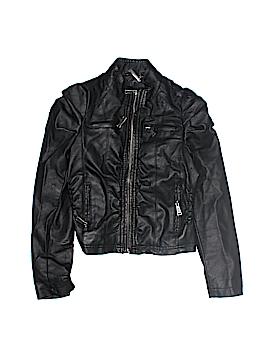 JouJou Faux Leather Jacket Size 10