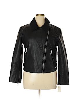 Vigoss Faux Leather Jacket Size 1X (Plus)