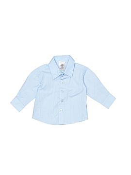 Van Heusen Long Sleeve Button-Down Shirt Size 0-3 mo