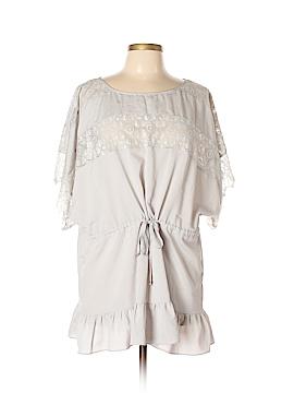 Jaloux Short Sleeve Blouse Size L