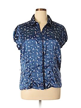 Antilia Femme Short Sleeve Blouse Size 1X (Plus)