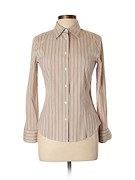 Loro Piana Long Sleeve Button-Down Shirt Size 42 (IT)