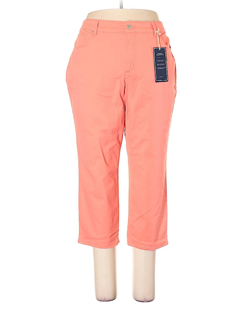 Charter Club Solid Orange Jeans Size 22 (Plus) - 63% off  21a9c40634