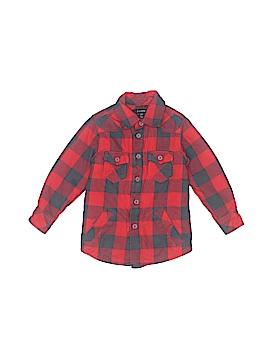 E. Land Long Sleeve Button-Down Shirt Size 2T