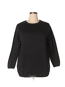Woman Within Sweatshirt Size 18 Petite (L) (Plus)