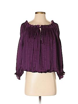 Diane von Furstenberg 3/4 Sleeve Top Size 5