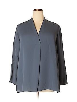 Nic + Zoe Long Sleeve Blouse Size 1X (Plus)