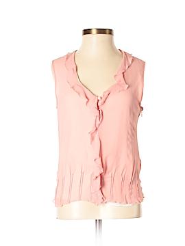 Mac & Jac Sleeveless Silk Top Size 4