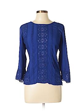 Meadow Rue 3/4 Sleeve Blouse Size L