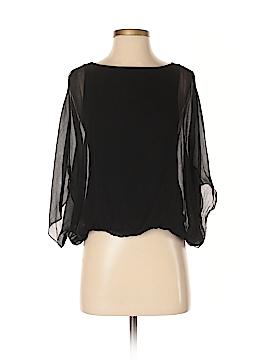 Alice + olivia 3/4 Sleeve Silk Top Size XS