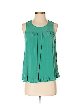 Alisha Levine Sleeveless Silk Top Size S