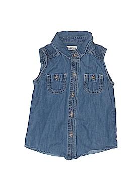 OshKosh B'gosh Sleeveless Button-Down Shirt Size 2T