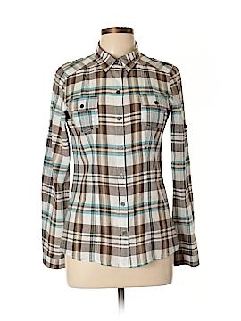 Wishful Park Long Sleeve Button-Down Shirt Size L