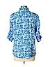 IZOD Women 3/4 Sleeve Button-Down Shirt Size XL