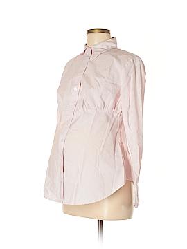 Gap - Maternity Long Sleeve Button-Down Shirt Size M (Maternity)