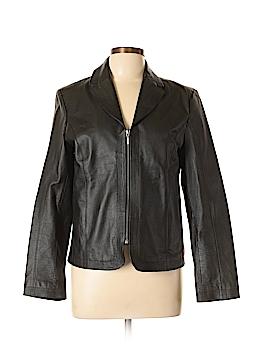 Kim Rogers Leather Jacket Size M