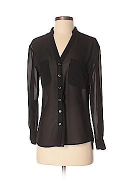 ABS Allen Schwartz Long Sleeve Blouse Size XS
