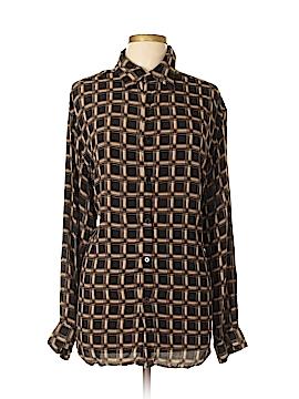 Claiborne Long Sleeve Button-Down Shirt Size XL