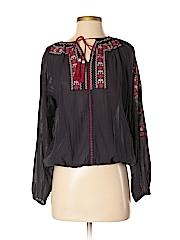 British India Classics Women Long Sleeve Blouse Size 5