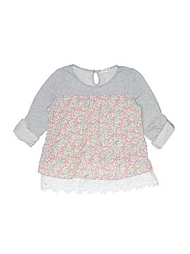 Monteau Girl 3/4 Sleeve Top Size 14