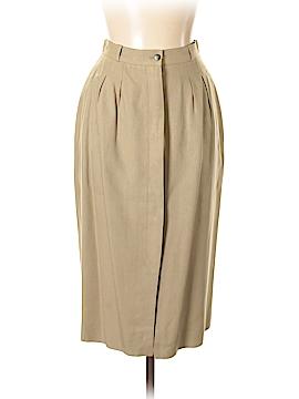 Liz Claiborne Silk Skirt Size 10 (Petite)