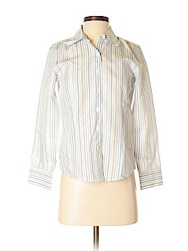 Talbots Long Sleeve Button-Down Shirt Size 2 (Petite)